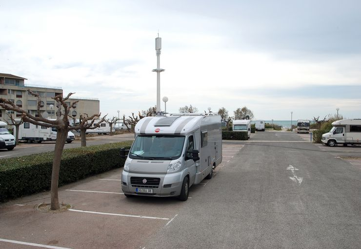 Parking de la Plage in Le Grau-du-Roi