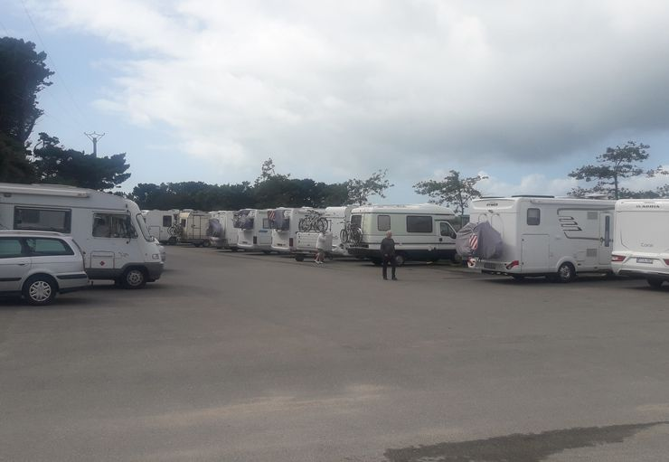 Aire Camping-Cars du Laber in Roscoff